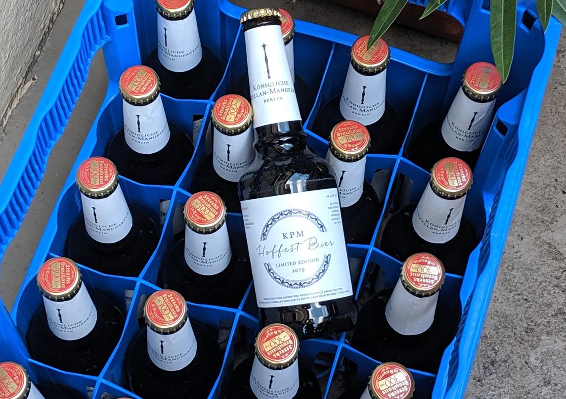 KPM Hoffest Bier 2019